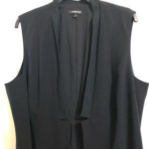Long Black Vest